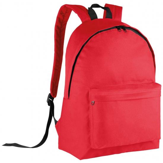 Kimood Rode rugtas voor kinderen 38 cm Tassen