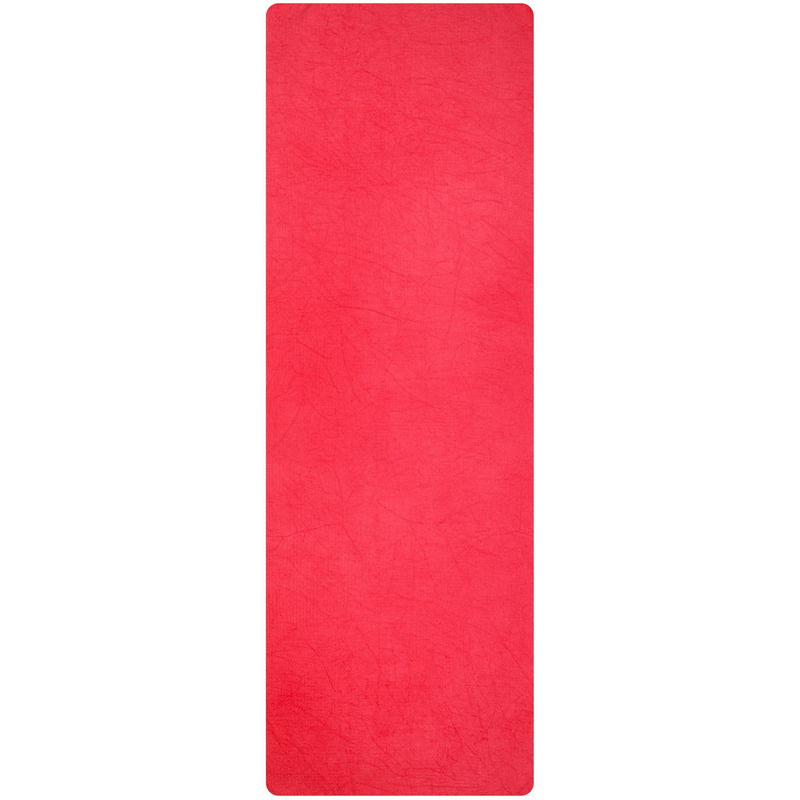 Roze yoga-sport handdoek antislip 183 x 61 cm