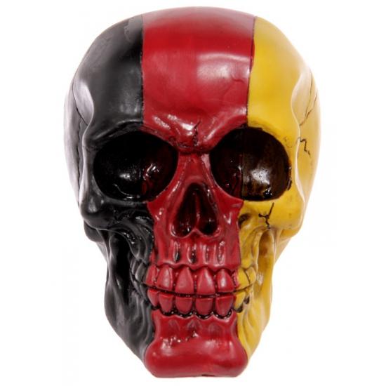 Schedel Duitse vlag kleuren