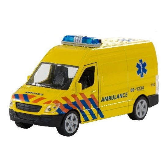 Speelgoed ambulance met licht en geluid