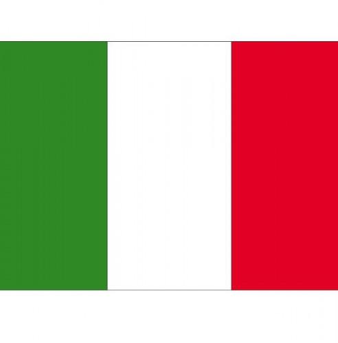 Landen versiering en vlaggen Shoppartners Stickertjes van vlag van Italie