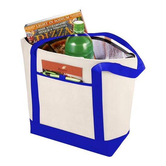 Strandtas met koelvak blauw AlleKleurenShirts nieuw