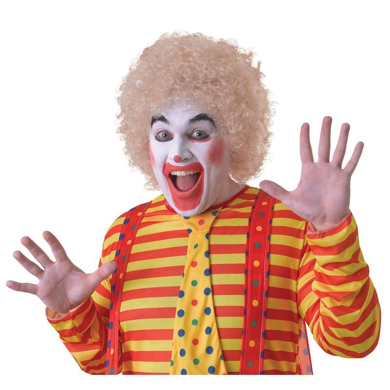 /feestartikelen-kleding/verkleed-accessoires/pruiken-baard-snorren/feest-pruiken/clowns-pruiken