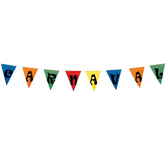 Thema feestartikelen Geen Vlaggenlijn carnaval 10 meter