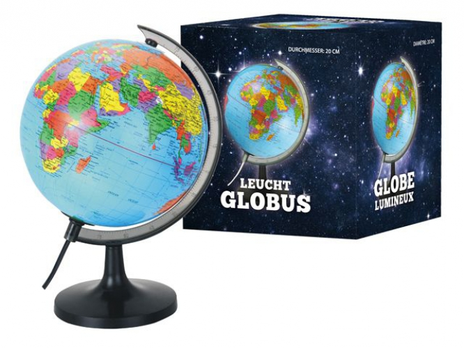 Wereldbol 20 cm