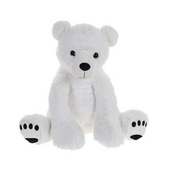 Witte ijsbeer knuffels 74 cm knuffeldieren
