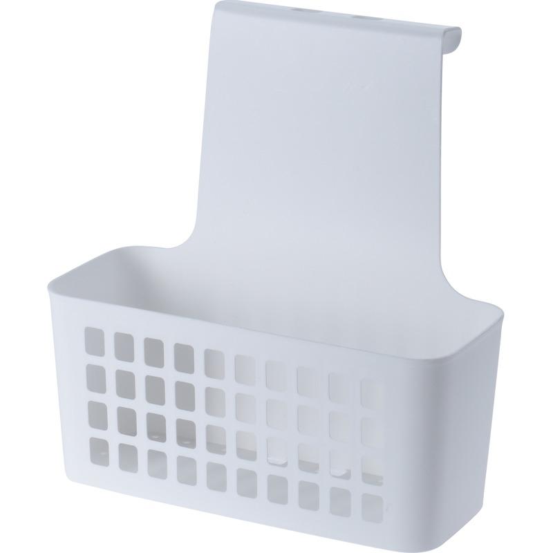 Witte kledingkast-badkamerkast deur hangmand 25 cm