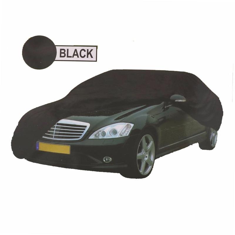 Zwarte auto beschermingshoes XL 534 x 178 x 120 cm