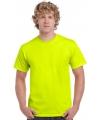 Neon kleurige gele shirtjes