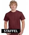 Bordeaux rode t-shirts