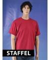 Kleding T-shirt ceder rood