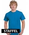 Kleding T-shirt cyaan blauw