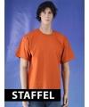 Donker oranje t-shirts