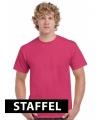 Kleding t-shirt fuchsia roze