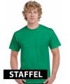 Kleding t-shirt gras groen