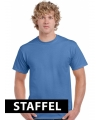 Iris blauwe t-shirts unisex