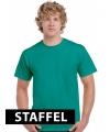 Kleding t-shirt jade groen