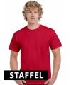 Kleding t-shirt kersen rood