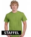 Kleding tshirt kiwi groen
