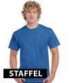 Kleding t-shirt kobalt blauw