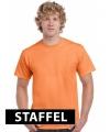 Oranje t-shirt 100% katoen