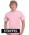 Lichtroze t-shirts