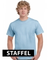 Lichtblauwe t-shirts