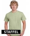 Kleding t-shirt lichtgroen