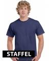Marine blauwe t-shirts