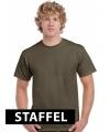 Olijfgroene t-shirts