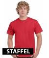 Rode t-shirts