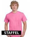 Roze t-shirts voor heren