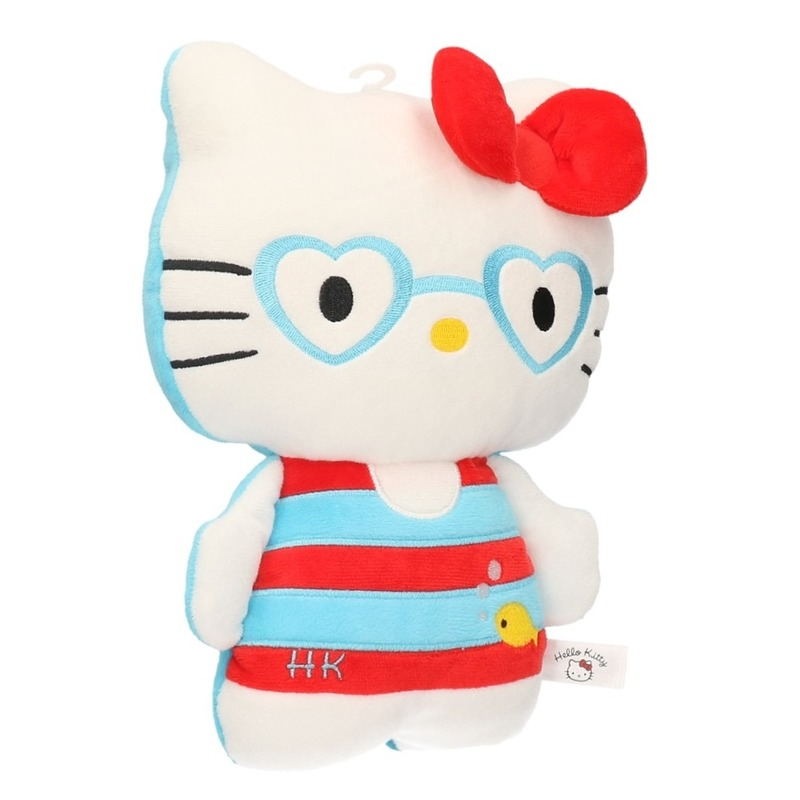 Hello Kitty in badkleding 25 cm